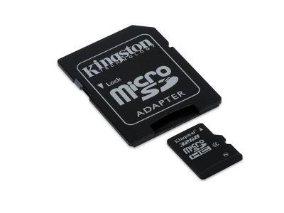 Kingston 32GB microSD Class 4 Flash Card