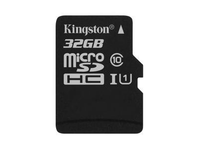 Kingston 32GB MicroSD Card Class 10