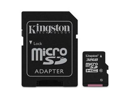 Kingston 32GB Class 10  microSDHC Card