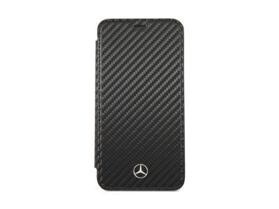 Mercedes Benz Carbon Fiber TPU Dynamic Pattern iPhone XMEFLBKPXCFBK