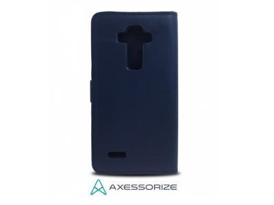AXESSORIZE LG G4 WALLET CASE BLU
