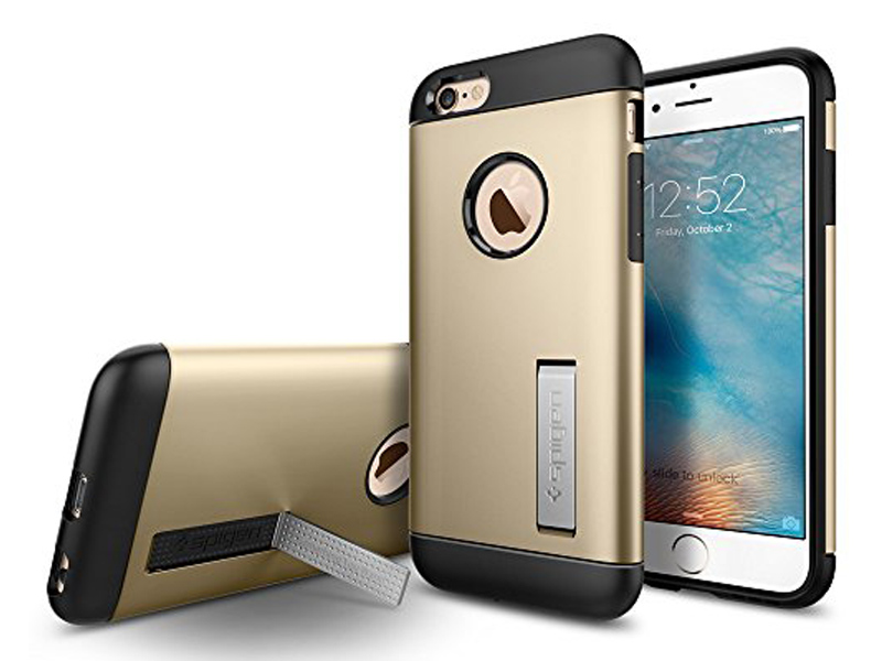 Spigen iPhone 6/6s Slim Armor Case Champagne Gold