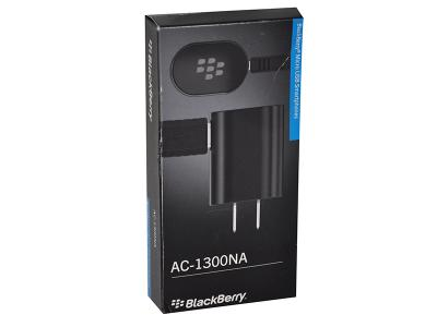 BLACKBERRY OEM MICRO WALL CHARGER AC-1300NA