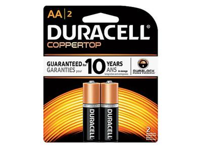 DURACELL 2 AA BATTERY 5000394096004