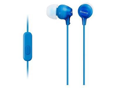 SONY MDR-EX15AP HEADPHONE Blue