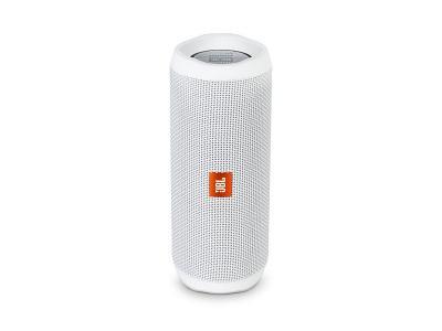JBL Flip 4 waterproof portable Bluetooth Speaker White
