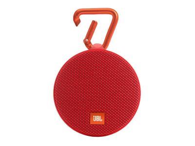 JBL Clip Red Portable Speaker System