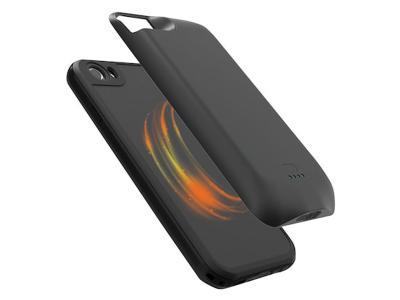 TZUMI IPHONE 8+ WIRELESS POWERCASE WITH WATERPROOF CASE BLK
