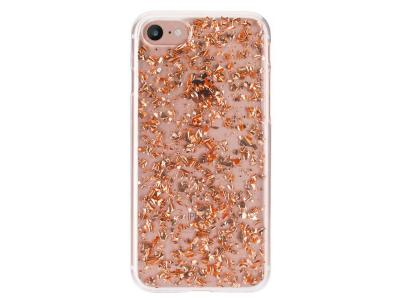 Flavr iPlate Rose Gold Flakes for iPhone 6/6S/7