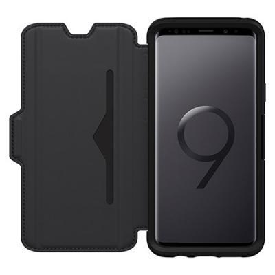 reputable site d2c84 18c05 OtterBox Symmetry Series Leather Folio Case for Galaxy S9 Plus