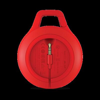 JBL Full-featured,splashproof,ultra-portable speaker Red Clip+