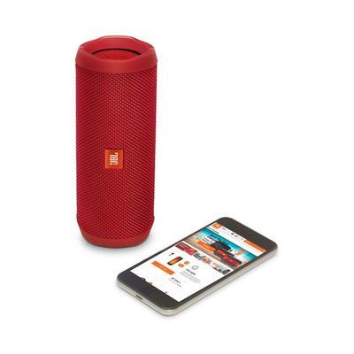 JBL Flip 4 waterproof portable Bluetooth Speaker Red