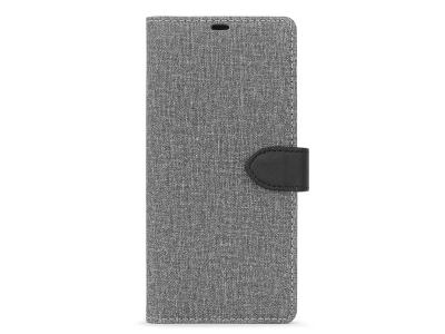 Blu Element 2 in 1 Folio Galaxy Note10+ Gray/Black