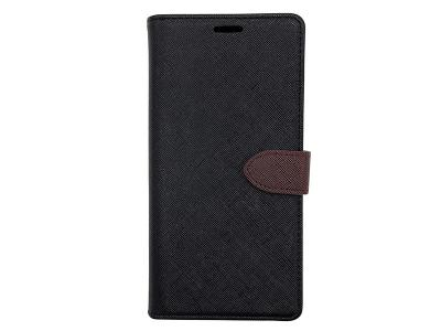 Blu Element 2 in 1 Folio iPhone XR Black/Brown